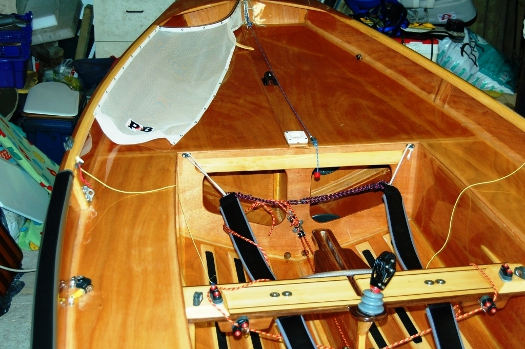 Interior of Mirror dinghy 70606